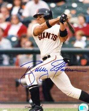 Bobby Auto Racing on Bobby Estalella Autographed 8x10 Photo  San Francisco Giants