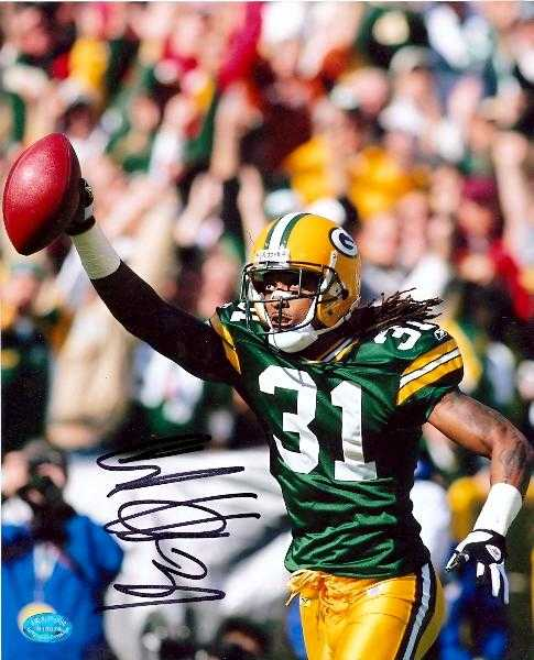 Al harris autographed 8x10 photo green bay packers