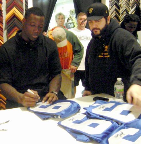 Jason Pierre-Paul Autographed Jersey (New York Giants
