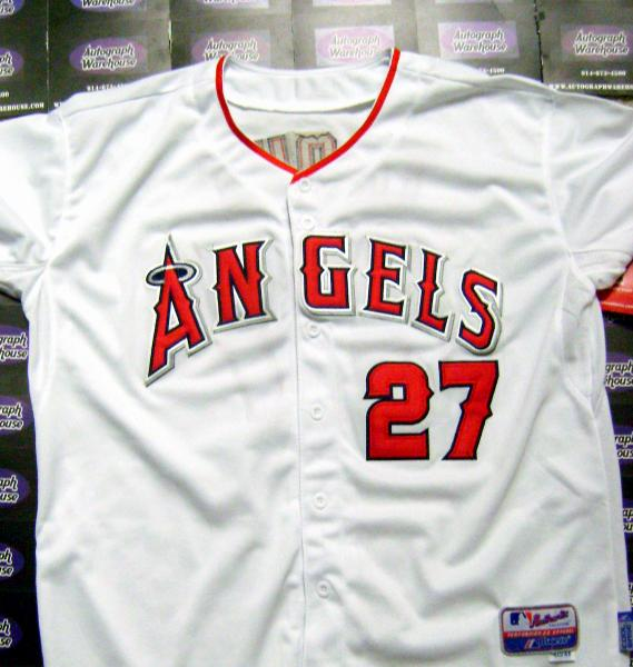 the latest b1e49 636cc Mike Trout autographed Jersey (Los Angeles Angels AL MVP ...