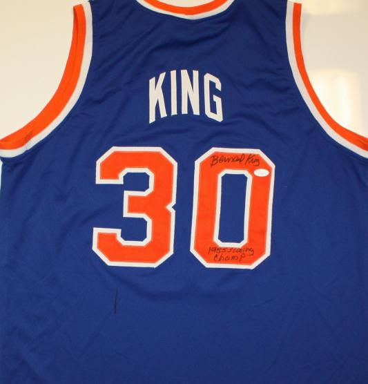 sports shoes d92ed 2fc24 Bernard King autographed Jersey (New York Knicks)