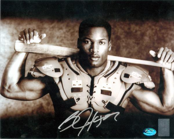 timeless design 9d6bf 34bd9 Bo Jackson autographed 8x10 Photo (Oakland Raiders ...