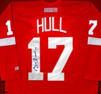 info for c2229 64b78 Brett Hull autographed (Detroit Red Wings) Jersey