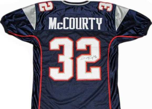 Devin McCourty autographed Jersey (New England Patriots)