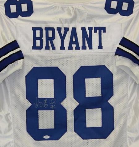 Dez Bryant Autographed Jersey Dallas Cowboys