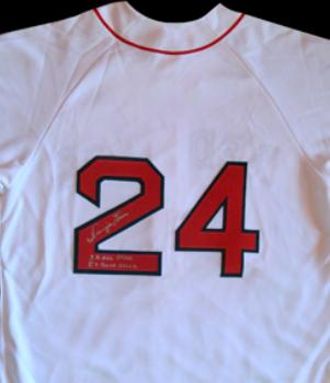 2381abde2 Dwight Evans autographed Baseball Jersey (Boston Red Sox)