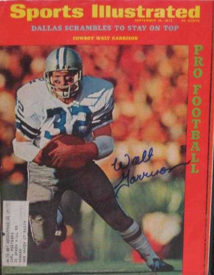 f5d9878396e Walt Garrison autographed Sports Illustrated Magazine (Dallas ...