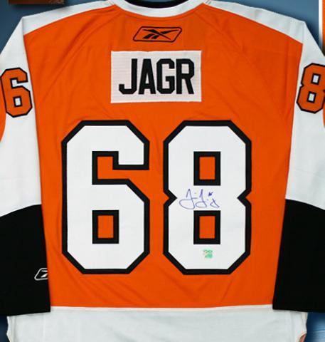 Jaromir Jagr autographed Jersey