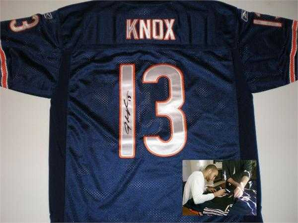 Johnny Knox autographed Jersey (Chicago Bears)