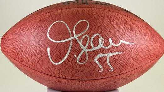 new style 2efdc 946a2 Junior Seau autographed Football (San Diego Chargers)