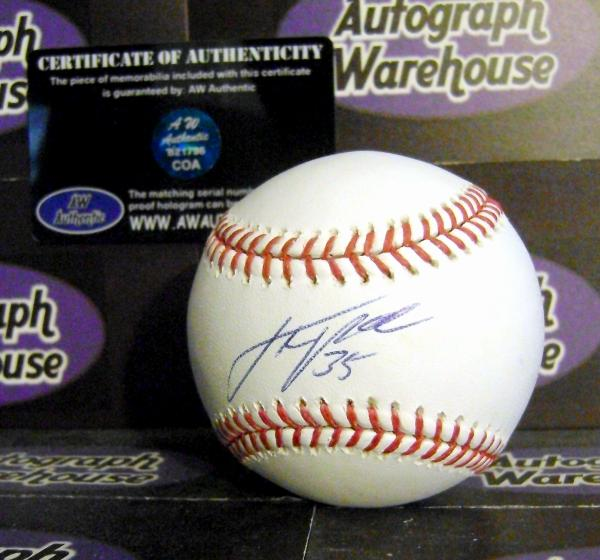 437b2bd05b2 Justin Verlander autographed Baseball (Detroit Tigers)