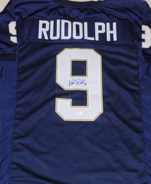 new arrival 5b87e 4bc61 Kyle Rudolph autographed Jersey (Notre Dame)