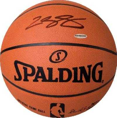 check out 1548b 2f23d LeBron James autographed Basketball