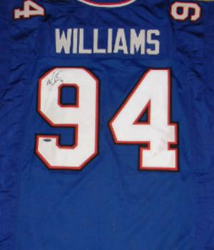 New Mario Williams autographed Jersey (Buffalo Bills)  hot sale