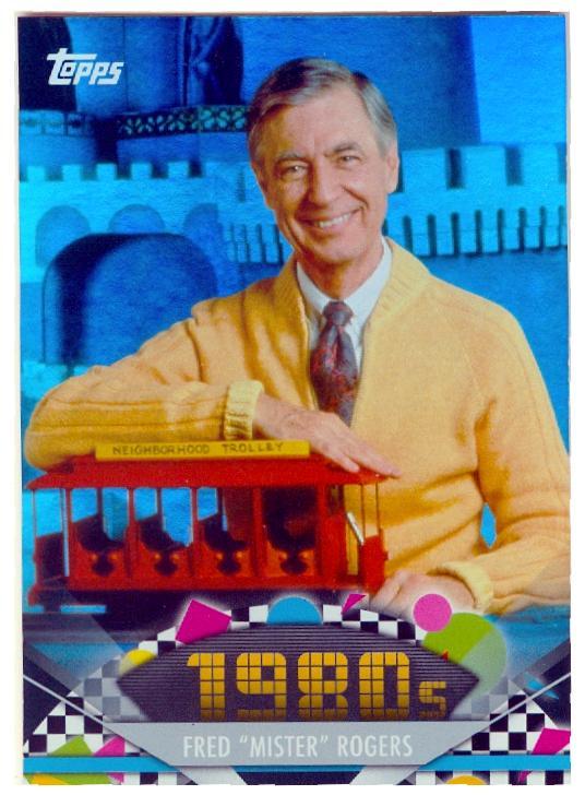 Fred Rogers trading card (Mr Rogers Neighborhood) 2011