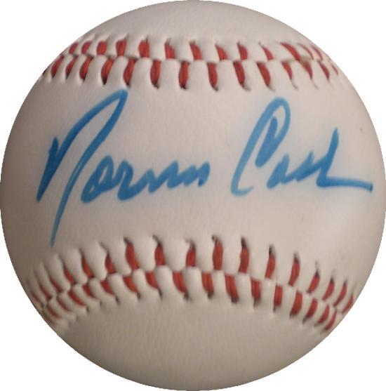 eec6e4187db Norm Cash autographed Baseball