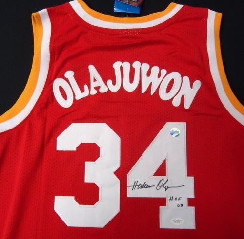 pretty nice fe014 50aad Hakeem Olajuwon autographed Jersey (Houston Rockets)