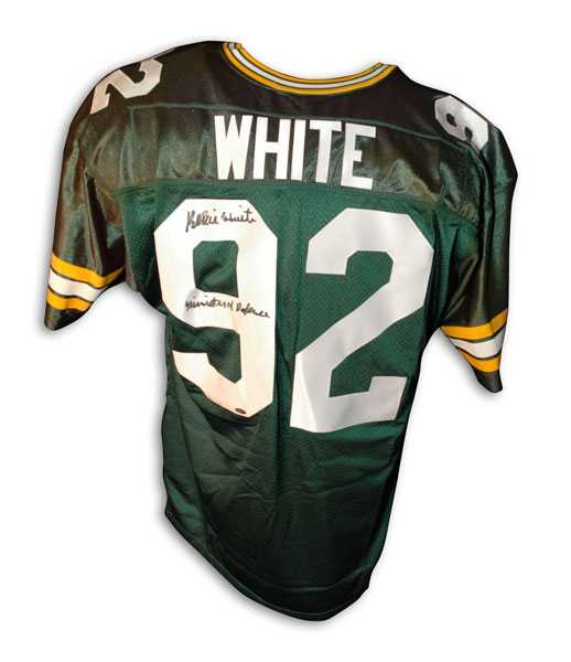 best sneakers 23300 8da61 Reggie White autographed Jersey (Green Bay Packers)