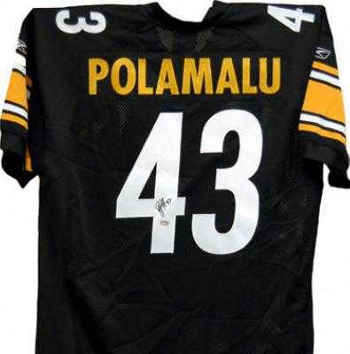 e1d6c7fb9 Troy Polamalu autographed Jersey (Pittsburgh Steelers)