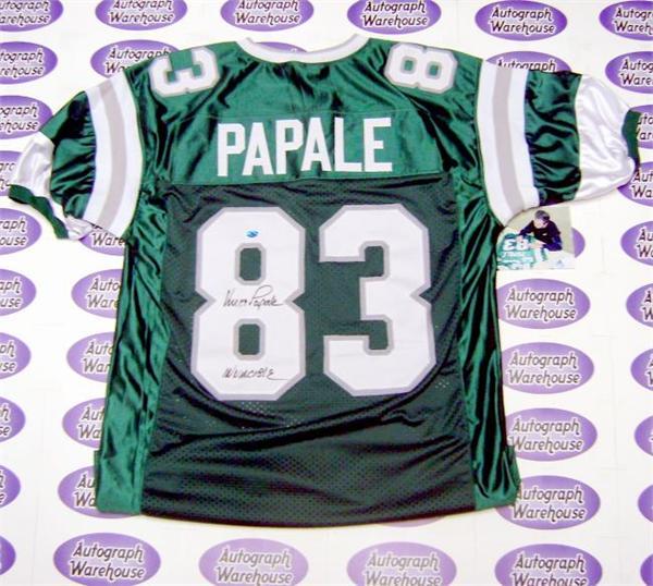 designer fashion 321ff cdea9 Vince Papale autographed jersey (Philadelphia Eagles ...