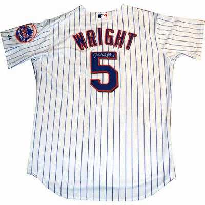 super popular f12b0 c18b2 David Wright autographed Jersey (New York Mets)