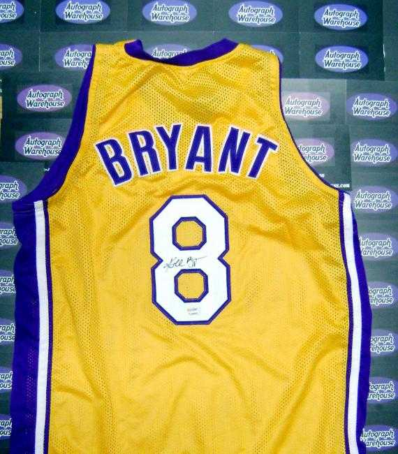 pretty nice 1940c d0796 Kobe Bryant autographed Jersey (Old #8, Los Angeles Lakers ...