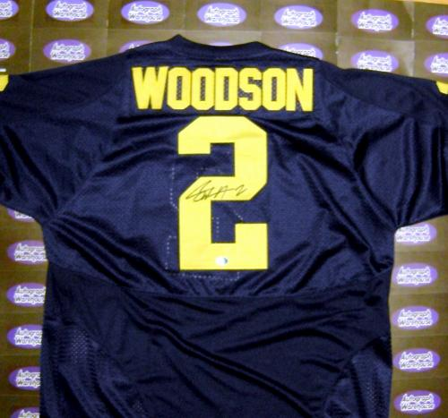 innovative design fab19 66c7a Charles Woodson autographed Jersey (Michigan Wolverines)