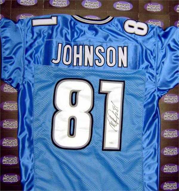 new concept f1887 fa94b Calvin Johnson autographed Jersey (Detroit Lions)
