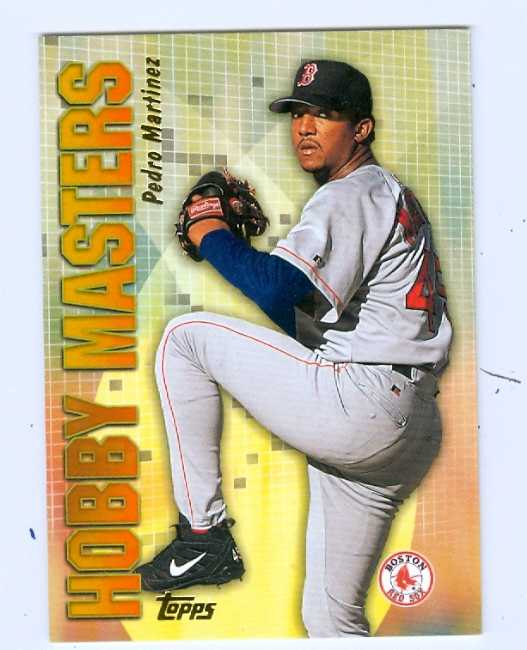 Pedro Martinez 2001 Topps Hobby Masters Baseball Card
