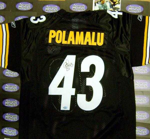 863f148f50b Troy Polamalu autographed Jersey (Pittsburgh Steelers)