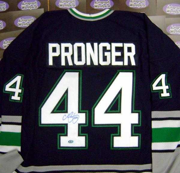 Chris Pronger autographed Jersey (Hartford Whalers) 147e3499e