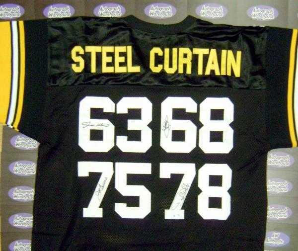steel curtain jersey