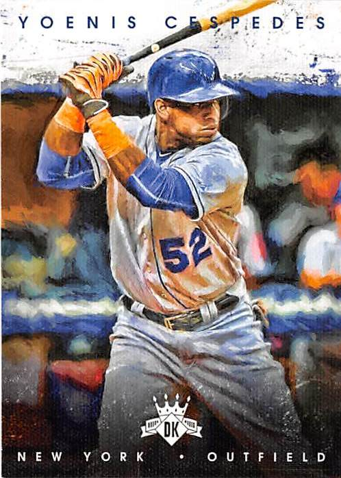Yoenis Cespedes Baseball Card New York Mets All Star Cuba 2016