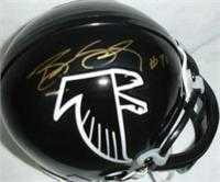 promo code 824a6 ed8ab Bill Goldberg autographed Mini Helmet (Atlanta Falcons)