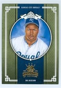 Bo Jackson Baseball Card Kansas City Royals Bo Knows 2005