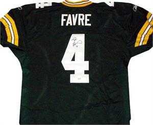 timeless design cd0f9 8cedd Brett Favre autographed Jersey (Green Bay Packers) Favre ...