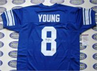 buy popular 1b4c6 180a1 Steve Young autographed Jersey (BYU Brigham Young University ...