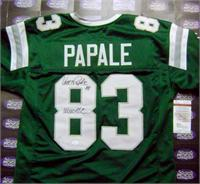 d4fb303b0f6 Vince Papale autographed jersey (Philadelphia Eagles) inscribed ...
